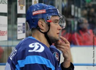 КХЛ: Лидеры минского «Динамо» по хитам, блокам и фолам