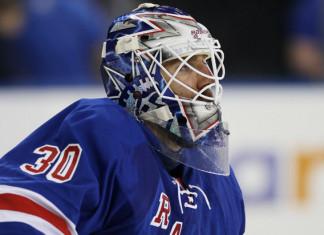 НХЛ: Вратарь «Рейнджерс» выбыл на неопределённый срок