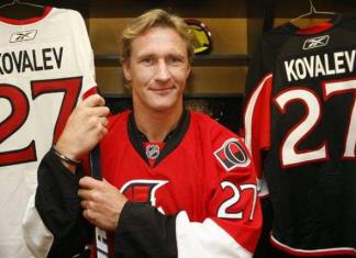 Завершивший карьеру Ковалев хочет вернуться в НХЛ