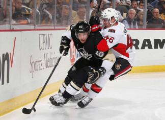 НХЛ: Лидер «Питтсбурга» набрал юбилейное очко