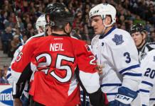НХЛ: «Торонто» обменяло своего капитана в «Оттаву»