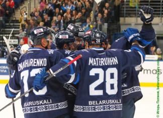 КХЛ: Минское «Динамо» в серии буллитов обыграло «Югру» и вышло в плей-офф