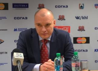 Андрей Разин: Сегодня в отличие от игры в Минске мы смогли дать сопернику хороший бой