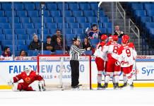 МЧМ: Сборная Беларуси второй раз подряд проиграла Дании и вылетела из элитного дивизиона