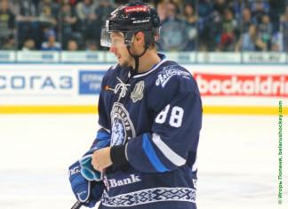 КХЛ: Форварду минского «Динамо» исполнилось 32 года