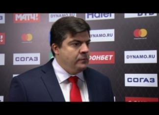 КХЛ: Наставник «Спартака» пожелал удачи белорусскому тренеру