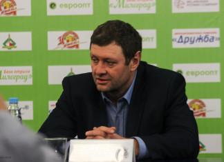 Александр Полищук: Боимся бросать, потому что банально нет клюшек, спасибо Захарову, что выручили нас одной