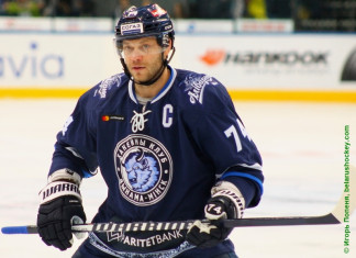 КХЛ: Форвард минского «Динамо» провел юбилейный матч