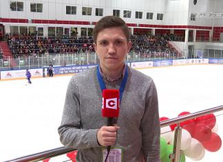 Ярослав Писаренко: Как всегда много болельщиков. Все хотят посмотреть на потрясающие матчи Рождественского турнира