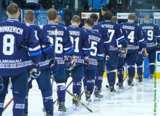 КХЛ: Минское «Динамо» проиграло «Адмиралу» и потеряло шансы на плей-офф