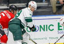 ECHL: Степан Фальковский неудачно провёл игру против «Канзас-Сити»