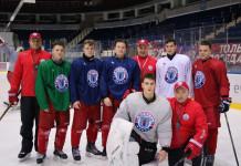 Экстралига А: Воспитанники СДЮШОР «Юность» провели тренировку с основной командой