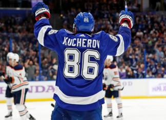 НХЛ: Никита Кучеров – первый за девять лет игрок, набравший 110 очков за сезон