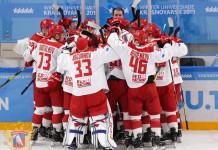 «БХ»: Экс-форвард молодежной сборной Беларуси в составе сборной России выиграл золото Универсиады