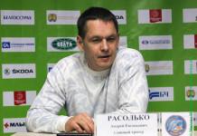 Андрей Расолько: Желаю всем работникам и хоккеистам «Юности» крепкого здоровья