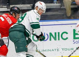 ECHL: Поражение команды Фальковского, Кульбаков снова в запасе