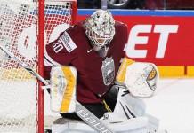 Вратарь сборной Латвии подписал контракт с клубом НХЛ