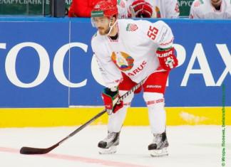 Фото: Ник Бэйлен принял участие в тренировке сборной Беларуси