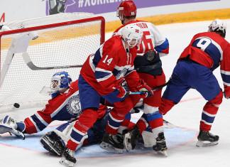 Олимпийская сборная России в Питере разгромила Норвегию