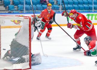Видео: Сборная Беларуси одолела Венгрию и одержала вторую победу подряд