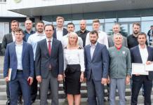 Одиннадцати хоккейным специалистам вручены дипломы ВШТ