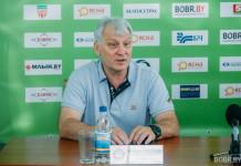 Владимир Синицын: Вариант с Бобруйском неплохой, мне предложили большое поле деятельности