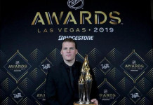 Сын экс-тренера сборной Беларуси признан хоккеистом года в Швеции