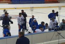 Экстралига Б: ХК «Локомотив» провёл первую тренировку на льду