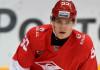 КХЛ: Форвард «Спартака» задержан за езду с поддельными водительскими правами