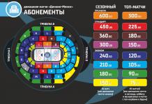 Минское «Динамо» объявило о старте абонементной программы на сезон-2019/2020