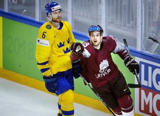 Латвийский форвард подписал контракт с «Питтсбургом» на $1,5 млн