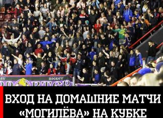 Вход на домашние матчи «Могилева» в Кубке Салея будет свободным