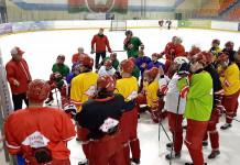 МХК «Спартак» сыграет с молодежными сборными Беларуси