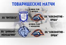 Оршанский «Локомотив» проведёт два товарищеских матча перед началом Кубка Салея