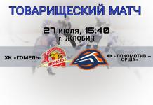 Оршанский «Локомотив» проведёт товарищеский матч с «Гомелем»