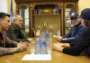 Председатель Наблюдательного совета минского «Динамо» встретился с тренерским штабом